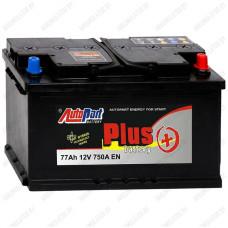 Аккумулятор AutoPart Plus AP772 R+ / 77Ah / Низкий