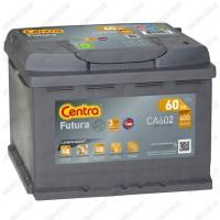 Аккумулятор Centra Futura CA602 / 60Ah / Низкий