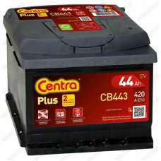 Аккумулятор Centra Plus CB443 / 44Ah / Низкий