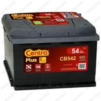 Аккумулятор Centra Plus CB542 / 54Ah / Низкий
