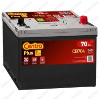 Аккумулятор Centra Plus CB704 / 70Ah