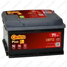 Аккумулятор Centra Plus CB712 / 71Ah / Низкий