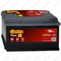 Аккумулятор Centra Plus CB740 / 74Ah