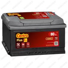 Аккумулятор Centra Plus CB802 / 80Ah / Низкий
