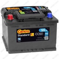 Аккумулятор Centra Standard CC551 / 55Ah