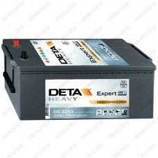 Аккумулятор DETA Expert HVR DE2253 / 225Ah