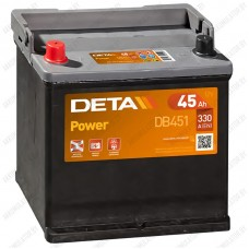 Аккумулятор DETA Power DB451 / 45Ah