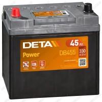Аккумулятор DETA Power DB455 / 45Ah