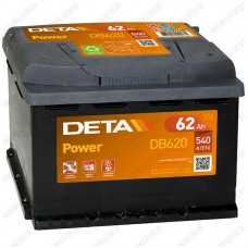 Аккумулятор DETA Power DB620 / 62Ah