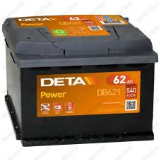 Аккумулятор DETA Power DB621 / 62Ah
