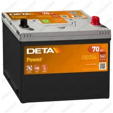 Аккумулятор DETA Power DB704 / 70Ah