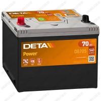 Аккумулятор DETA Power DB705 / 70Ah