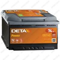 Аккумулятор DETA Power DB740 / 74Ah