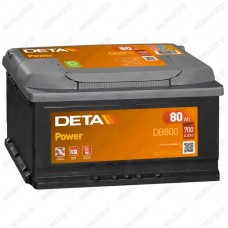 Аккумулятор DETA Power DB800 / 80Ah