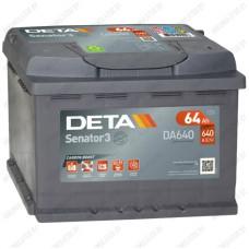 Аккумулятор DETA Senator3 DA640 / 64Ah