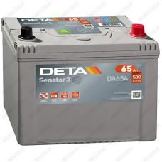 Аккумулятор DETA Senator3 DA654 / 65Ah