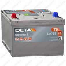 Аккумулятор DETA Senator3 DA755 / 75Ah