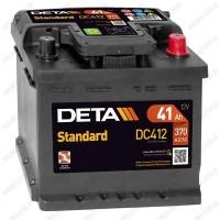 Аккумулятор DETA Standard DC412 / 41Ah / Низкий