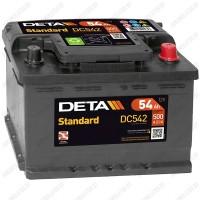 Аккумулятор DETA Standard DC542 / 54Ah / Низкий
