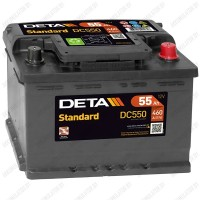 Аккумулятор DETA Standard DC550 / 55Ah