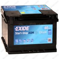 Аккумулятор Exide Hybrid AGM EK600 / 60Ah