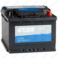 Аккумулятор Exide Classic EC550 / 55Ah