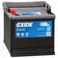Аккумулятор Exide Excell EB451 / 45Ah