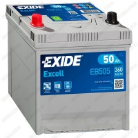 Аккумулятор Exide Excell EB505 / 50Ah