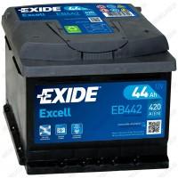 Аккумулятор Exide Excell EB442 / 44Ah / Низкий