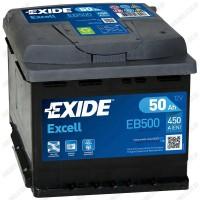 Аккумулятор Exide Excell EB500 / 50Ah
