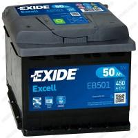Аккумулятор Exide Excell EB501 / 50Ah