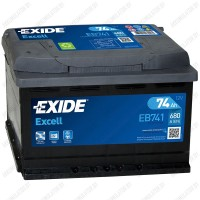 Аккумулятор Exide Excell EB741 / 74Ah