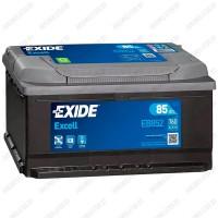 Аккумулятор Exide Excell EB852 / 85Ah / Низкий