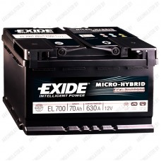 Аккумулятор Exide Micro-Hybrid ECM EL700 / 70Ah