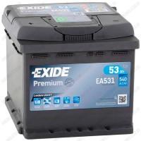 Аккумулятор Exide Premium EA531 / 53Ah