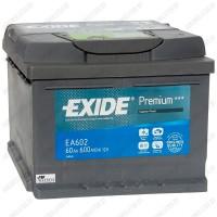 Аккумулятор Exide Premium EA602 / 60Ah / Низкий