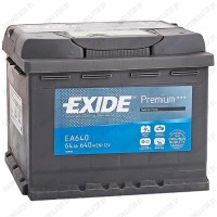 Аккумулятор Exide Premium EA640 / 64Ah