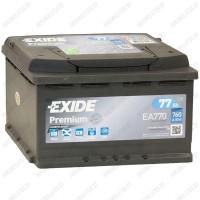 Аккумулятор Exide Premium EA770 / 77Ah