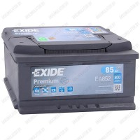 Аккумулятор Exide Premium EA852 / 85Ah / Низкий