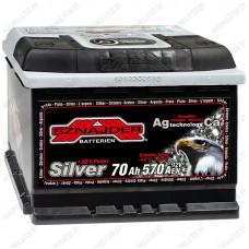 Аккумулятор Sznajder / Silver / 570 25 R / 70Ah