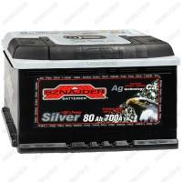 Аккумулятор Sznajder / Silver / 580 25 R / 80Ah