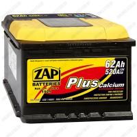 Аккумулятор ZAP Plus 562 65 L / 62Ah