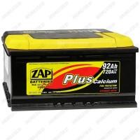 Аккумулятор ZAP Plus 592 18 R / 92Ah