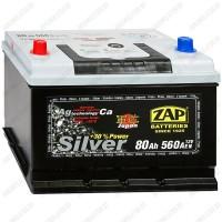 Аккумулятор ZAP Silver Japan 580 72 L / 80Ah