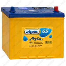 Аккумулятор AKOM Asia 6СТ-65VL / 65Ah