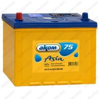 Аккумулятор AKOM Asia 6СТ-75VL / 75Ah
