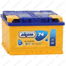 Аккумулятор AKOM Classic LB 74Ah / Низкий