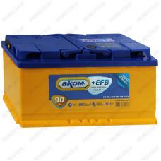 Аккумулятор AKOM +EFB / 90Ah