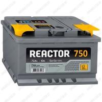 Аккумулятор AKOM Reactor 6CT-75 L / Прямая полярность
