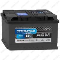 Аккумулятор AKOM Ultimatum AGM / 70Ah / 760А